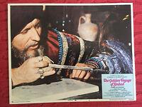 The Golden Voyage Of Sinbad 1973 Columbia horror lobby card Ray Harryhausen
