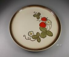 """METLOX CALIFORNIA STRAWBERRY SALAD PLATE  8 1/8"""" - SET OF 2 PLATES - EXCELLENT"""