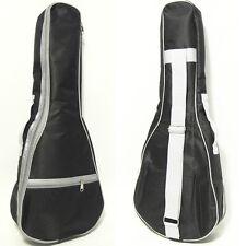 """NAOMI UKULELE 26"""" Ukulele Bag Case Backpack Tenor Ukelele Black White Gig Bag"""