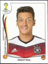 PANINI WORLD CUP 2014- #499-DEUTSCHLAND-GERMANY & ARSENAL-MESUT OZIL