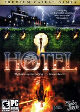 Hotel (PC Game) a detective of paranormal cases adventure,more than 50 locations