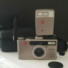 Appareil photos Leica Minilux Zoom avec Leica Vario Elmar 3,5-6,5/35-70 + Flash