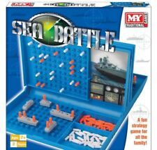 M.y Battleships Sea Battle Traditional Family Fun Combat Strategy Board Game