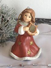 Goebel ★ Engel Jahresengel Glöckchen 2005 - mit Harfe ★ RARITÄT ★ wie NEU ★