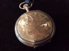 Vintage/Antique Waltham Mens Pocket Watch Hunting Case 20 Year Guarantee Working