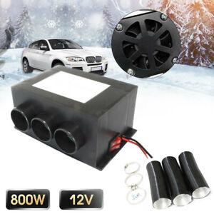 Universal 12V 800W Car Heater Fan Warmer Windshield Window Defroster Demister