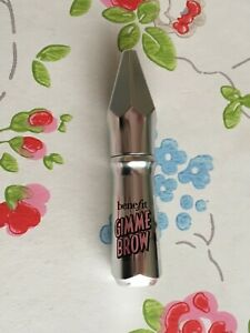 NEW ⭐️️BENEFIT⭐️GIMME BROW Volumising Eyebrow Gel⭐️01 LIGHT ~ Mini 1.0g