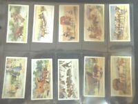 1927 Ogdens MODES OF CONVEYANCE early transport set 25 cards Tobacco Cigarette