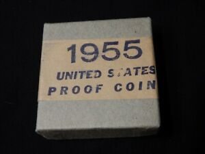 1955 PROOF SET - SEALED - BOX IN GREAT CONDITION