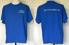 "Lady Antebellum 2012 Local Crew ""Own the Night"" Royal Blue T-Shirt XL"