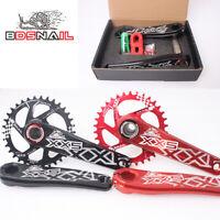GXP Bike MTB Crankset 30T 32T 34T Chainring BB Crank For Sram GXP XX1 X9 XO X01