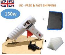 150W Hot Melt Glue Gun kits + Adhesive Glue Sticks Professional Craft DIY Hobby