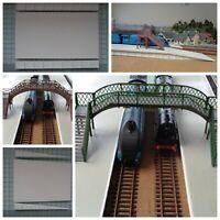 WIDE Railway Platform 2 Mould Kit - OO Gauge Model Railway Platform kit PW01