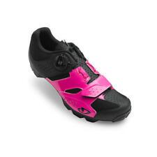 Giro Cylinder Womens Mountain Bike Shoes Black & Pink Eu 39 or US 7.5