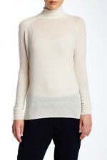 NEW Vince Wool Blend Superwash Turtleneck Sweater- Winter White size XL $235