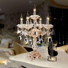 Lampadari da soffitto di cristallo oro da 4-6 luci