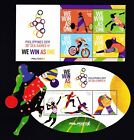 Philippines 2019 Sport 30th SEA Games Cycling, Basketball Cut to shape 4v+S/S NH