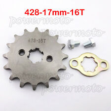 428 16 Tooth 17mm Front Engine Sprocket Set For Chinese CRF50 XR50 Dirt Pit Bike