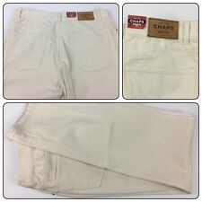 NWT Chaps Denim 2- Frontier Women's Jeans Waist 30 Natural Color Beaded Pockets