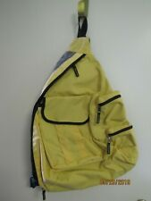 "Gap Side Sling Yellow School Back Sling Bag One Shoulder Backpack 17"" x 20"""
