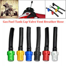 CNC Motorcycle Gas Fuel Tank Cap Valve Vent Breather Hose Tube ATV Dirt Pit Bike