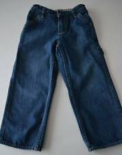 Boys GAP KIDS Sz 5 R Denim Carpenter Blue Jeans Pants