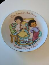 Mothers Day - Love Comes In All Sizes - 1984 - Avon Collector Plate