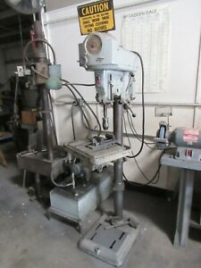 ROCKWELL DELTA DRILL PRESS MODEL 17-600_COMES FROM A WORKING SHOP_FCFS_4SERIOUS!