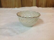 Vintage Lenox Small Bowl With Cut Out Flowers Excellent