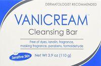 4 Pack - Vanicream Cleansing Bar - 3.9oz Each