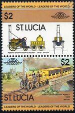 1829 Stephenson's rocket (RAINHILL essais) train timbres / loco 100