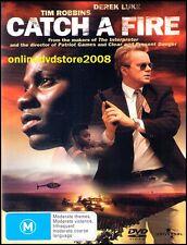 CATCH A FIRE (Tim ROBBINS, Derek LUKE) TRUE STORY THRILLER Film DVD (NEW SEALED)