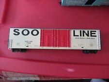 Soo Line Box Car HO Scale vintage 177581