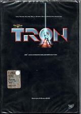 TRON -DOPPIO DVD DISNEY NUOVO SIGILPRIMA STAMPA RARO Z3 DV5089 OLOGRAMMA ROTONDO