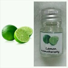 LEMON (LIME) SCENT AROMA ESSENTIAL OIL FOR DIFFUSER, SPA BATH, CANDLE LAMP,  5ml