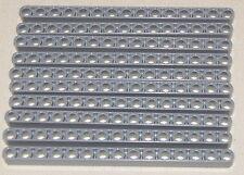 LEGO LOT OF 10 DARK BLUISH GREY LIFTARMS TECHNIC 1 X 15 RODS BEAMS PIECES