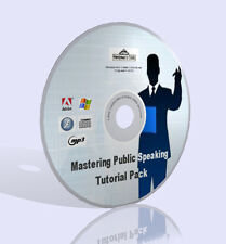 Mastering Public Speaking Tutorial Pack in CD - Audio, Video, Guides & More!