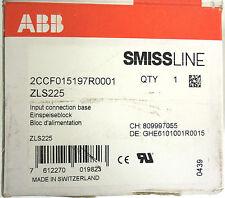 ABB ZLS225, Input Connection Base, SMISSLINE