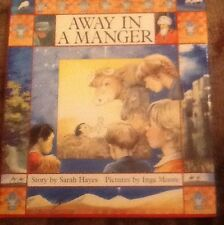 2 Christmas Books Come and See A Story Away In A Manger By Sarah Hayes HBDJ 1987