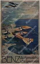 Ruep Fliegertruppe Albatros B.II Jasta FFA Luftwaffe Benz Motoren Mannheim 1917