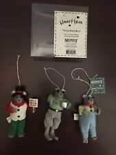 Midwest of Cannon Falls Heart Felts Three Blind Mice nursery rhyme ornaments