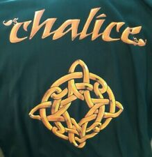 CHALICE- Celtic Cross T-shirt Double sided large print! - X-Large size