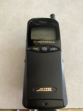 Vintage Motorolla Flip Phone W Charger Works! Alltell