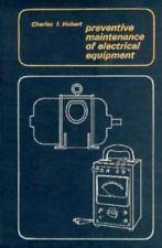 Preventive Maintenance of Electrical Equipment