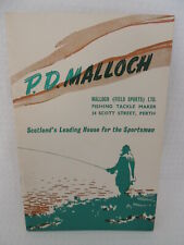 P.D Malloch Of Perth Fishing Tackle Catalogue / Guide.