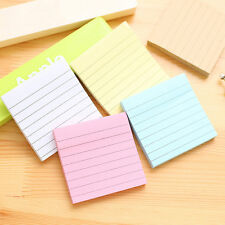 Sticky Notes Notebook Memo Pad Bookmark Paper Sticker Notepad Stationery Random