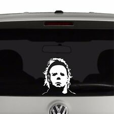 Michael Myers Mask Halloween Inspired Vinyl Decal Sticker