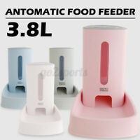 Automatic Pet Dog Cat Rabbit Food Water Dispenser Dish Gravity Bowl Feeder ##!