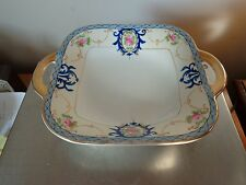 Antique Noritake Gold Gilded Loop Handles Relish  Celery Dish M Mark