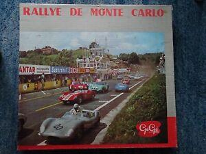 CIRCUIT ELECTRIQUE GEGE-RALLYE DE MONTE CARLO.